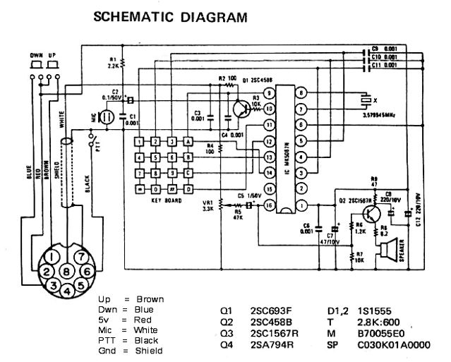 ham radio wiring diagram with Turner Super Sidekick Microphone Wiring on z80 likewise Scc3 further Astatic D104m6b Wiring Diagram besides Lifes Too Short For An Ugly Console additionally Ten minute radio.